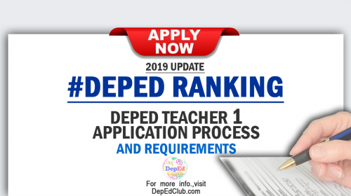 deped teacher application