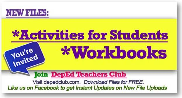 K 12 Workbooks Download Deped Teachers Club