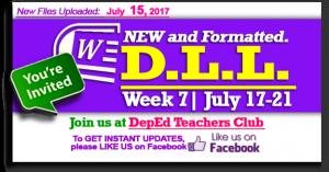 week 7 dll p