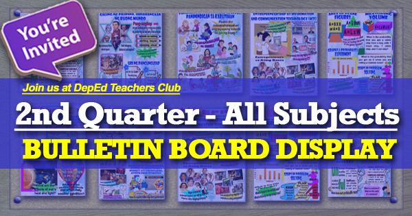 2nd Quarter Bulletin Board Display