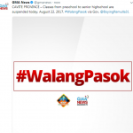 august 22 class suspension