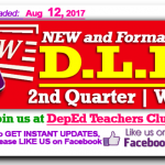 2nd quarter week 1 daily lesson log