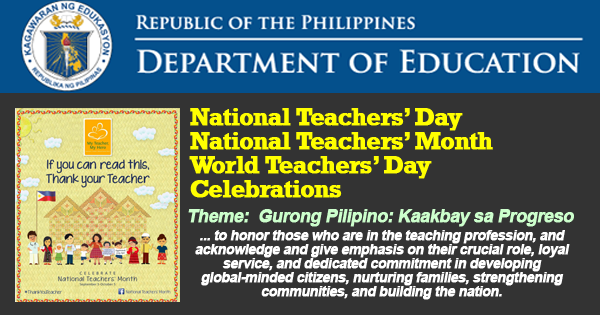 Worlds Teachers day