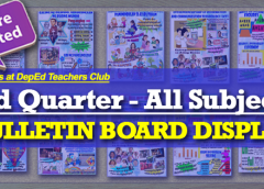 3rd Quarter Bulletin Board Display