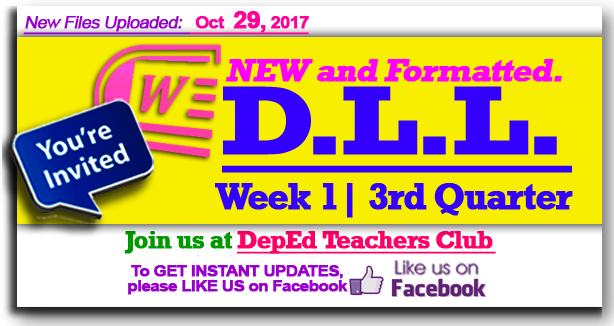 Download | K-12 Daily Lesson Log (DLL) - DepEd Club