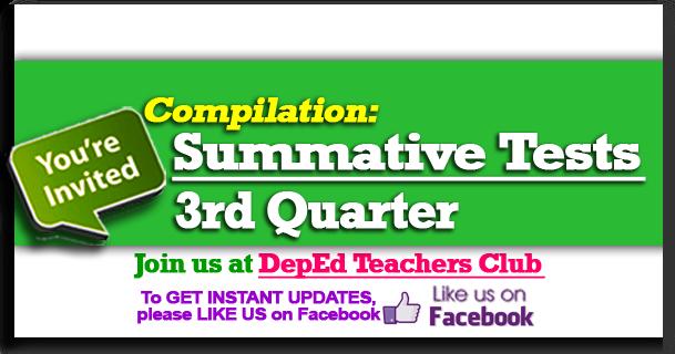 3rd Quarter Summative Test