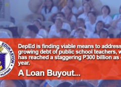 DepEd Finding Ways to Help Teachers in Debt