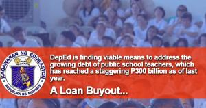 DepEd Finding Ways to Help Teachers in Debt