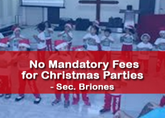 Mandatory Fees for Christmas Parties