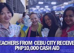 cash aid for teachers in cebu city
