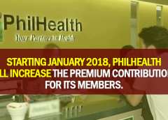 Increased PhilHealth Premium Payments