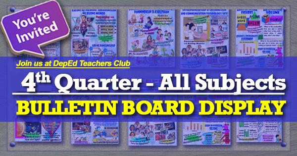 example of bulletin board display