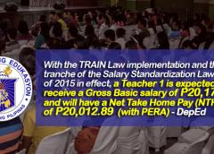 Train law for teachers