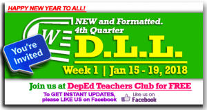 4th Quarter Daily Lesson Log
