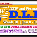 Week 10 - 3rd Quarter - Daily Lesson Log1