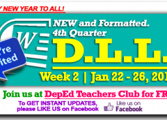 4th Quarter - Daily Lesson Log