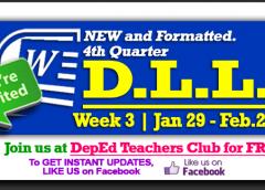 4th Quarter - Daily Lesson Log