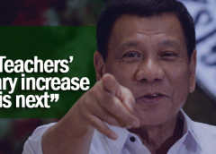 duterte salary increase for teachers