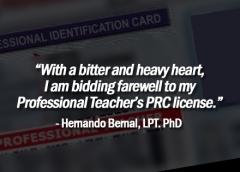 Teachers' Group Slam CPD Law, License Renewal Woes