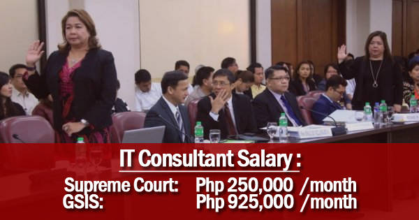 Supreme Court IT Consultant Defends P250000 Monthly Pay