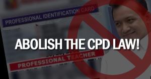 abolish cpd law