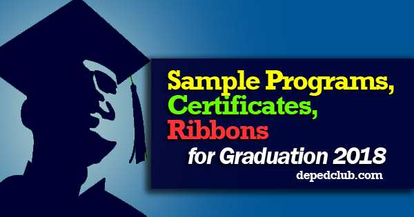 Sample Programs, Certificates, Ribbons