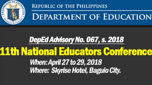 11th NATIONAL EDUCATORS CONFERENCE