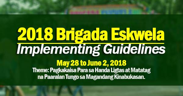 2018 Brigada Eskwela