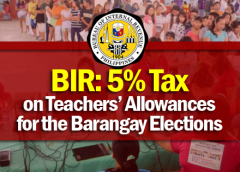 barangay elections allowance