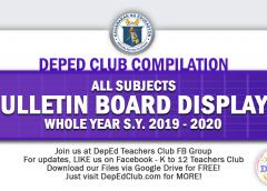 1st Quarter Bulletin Board displays