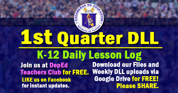 1st quarter Daily Lesson Log