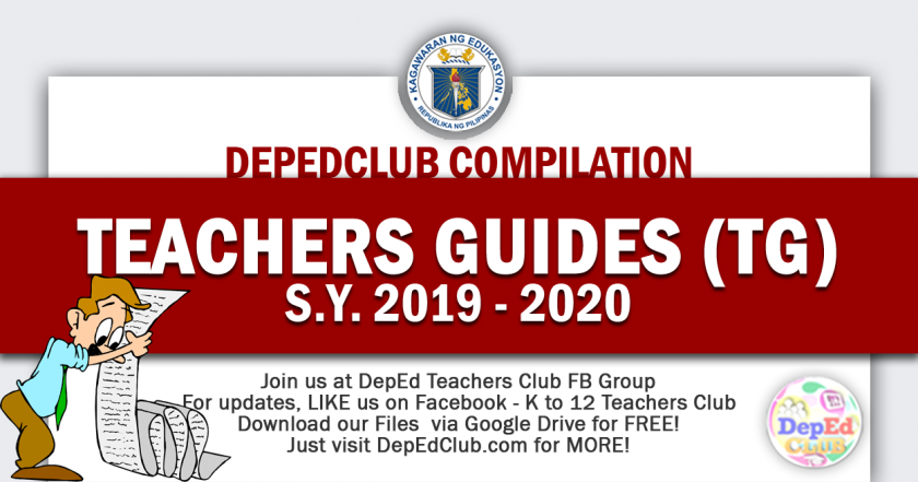 GRADE 2 Teachers Guide (TG) - The Deped Teachers Club