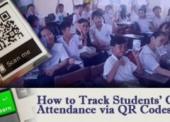 How to Track Students' Class Attendance via QR Codes