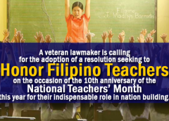 national teachers month