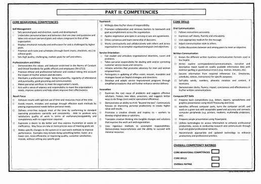 Part II: Competencies