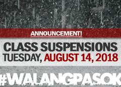 CLASS SUSPENSION AUGUST 14 2018