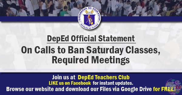 ban Saturday classes