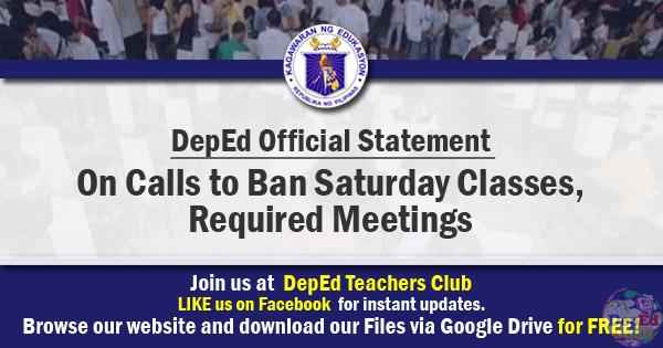 ban Saturday classes