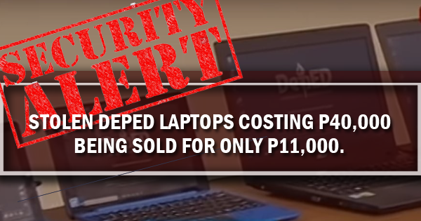 deped laptops