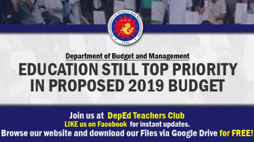 deped budget
