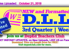 week 1 3rd quarter dll