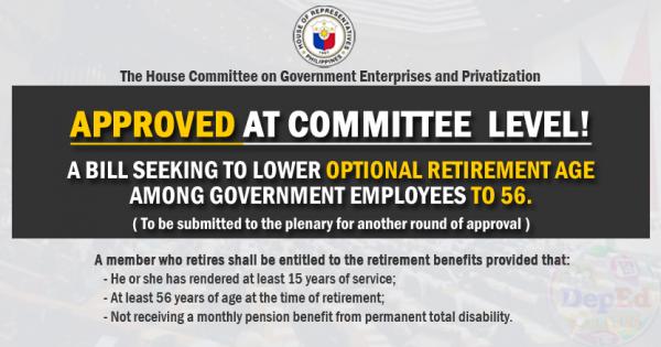 optional retirement age
