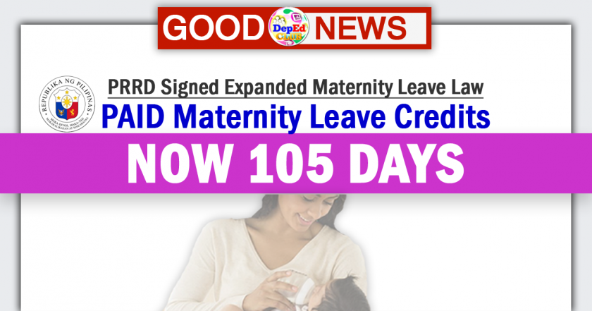 paid maternity leave credits