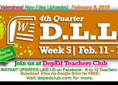 week 5 feb 11-15 2019