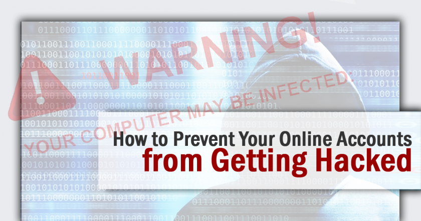 Prevent Your Online Accounts from Getting Hacked