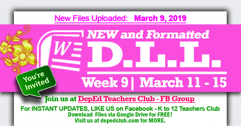 DLL week 9 4th quarter