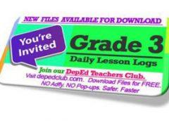 Grade 3 DLL