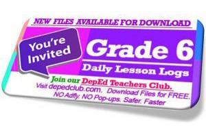 2nd Quarter Grade 6 Daily Lesson Log | SY 2019 – 2020 DLL