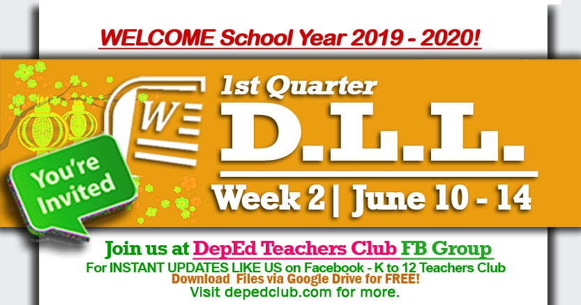 week 2 daily lesson log