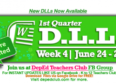 week 4 dll 1st quarter
